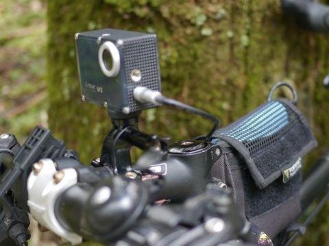 AC-V1 wasserdichte FHD Dash-Kamera und Action-Cam