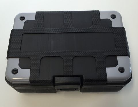 Storage box for TireMoni TM-100 and TM-210, black