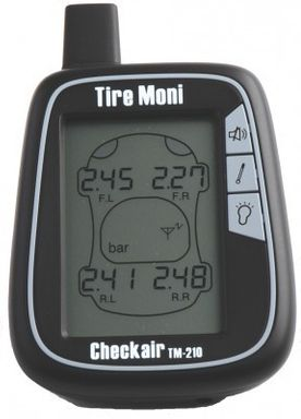 TireMoni TM-210-2 Tire Pressure Monitoring System, 2 sensors, black storage box – Bild 3