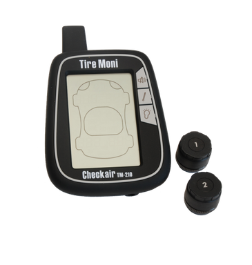 TireMoni TM-210-2 Tire Pressure Monitoring System, 2 sensors, black storage box – image 2