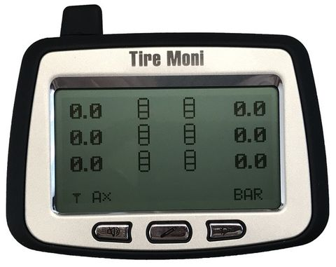Programmable Display TTM-2000X-D for TireMoni Truck TPMS Tyre Pressure Monitoring System – Bild 3