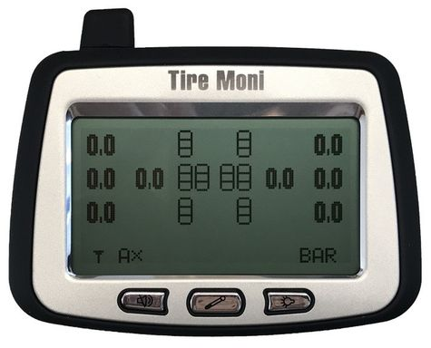Programmable Display TTM-2000X-D for TireMoni Truck TPMS Tyre Pressure Monitoring System – Bild 2