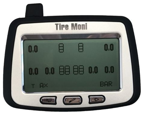 Programmable Display TTM-2000X-D for TireMoni Truck TPMS Tyre Pressure Monitoring System – Bild 4