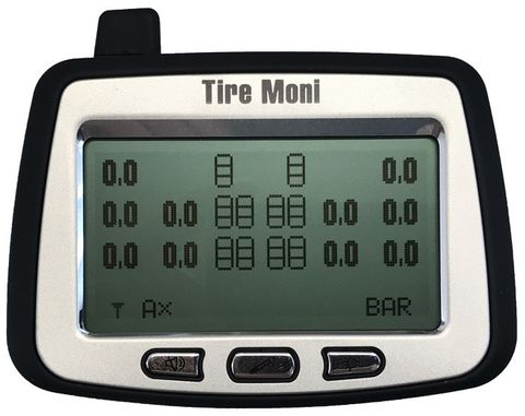 Programmable Display TTM-2000X-D for TireMoni Truck TPMS Tyre Pressure Monitoring System