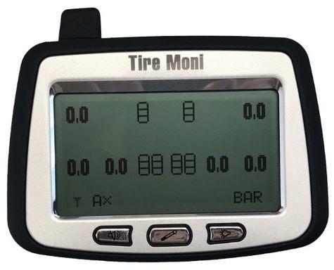 Reifendruckkontrollsystem TireMoni Truck TPMS Set TTM-2000X-DR06: Anzeige, 6 Sensoren, 1 Repeater – Bild 5