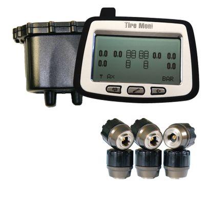 Reifendruckkontrollsystem TireMoni Truck TPMS Set TTM-2000X-DR06: Anzeige, 6 Sensoren, 1 Repeater – Bild 3
