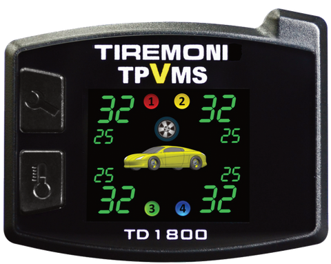 TD-1800-X Tyre Pressure and Vibration Monitoring System, external Sensors – image 2