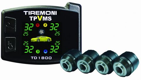 TD-1800-X Tyre Pressure and Vibration Monitoring System, external Sensors – Bild 1