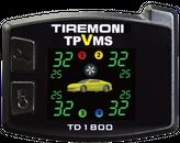 TPVMS TD-1800-X TireMoni Reifendruck- und Vibrations-Kontrollsystem, externe Sensoren – Bild 2