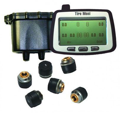 Reifendruckkontrollsystem TireMoni Truck TPMS Set TTM-2000X-DR06-R06: 12 Sensoren, 2 Repeater – Bild 2