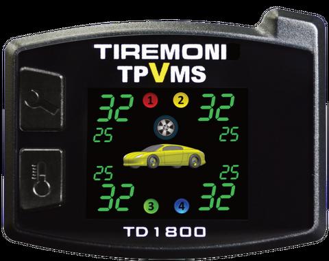 Reifendruck- und Vibrations-Kontrollsystem TireMoni TD-1800I, interne Sensoren – Bild 2