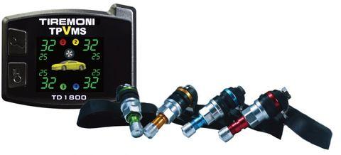 Reifendruck- und Vibrations-Kontrollsystem TireMoni TD-1800I, interne Sensoren