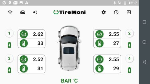 TireMoni STM-572-B: TireMoni auf Ihrem Smartphone – Bild 3