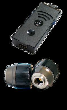 TireMoni STM-572-S2X-2 Smartphone TPMS Kit, 2 Sensoren bis 12,5 Bar