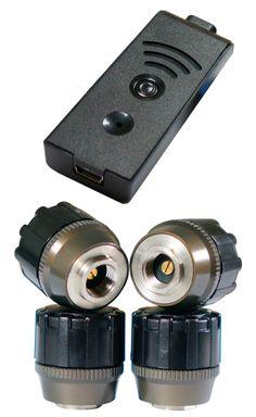 TireMoni STM-572-S4X-2 Smartphone TPMS Kit, 4 Sensors up to 12,5 Bar / 180 psi – image 1