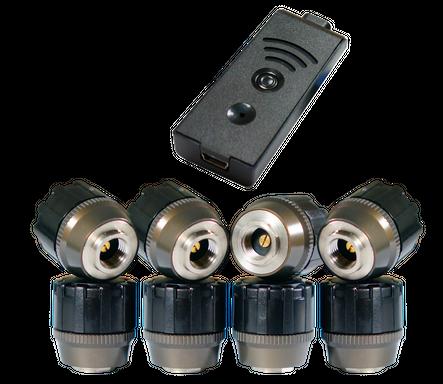 TireMoni STM-572-S8X-2 Smartphone TPMS Kit, 8 Sensors up to 12,5 Bar / 180 psi – image 1