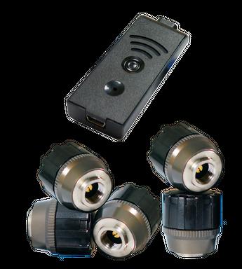 TireMoni STM-572-S5X Smartphone TPMS Kit, 5 Sensors up to 5,5 Bar / 80 psi – image 1