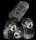 TireMoni STM-572-S5X Smartphone TPMS Kit, 5 Sensoren bis 5,5 Bar – Bild 1
