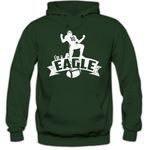 Eagle #7 Hoodie Herren Super Bowl Play Offs Football Hoodies USA Kapuzenpullover