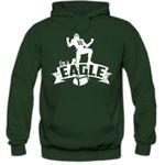 Eagle #7 Hoodie Herren Super Bowl Play Offs Football Hoodies USA Kapuzenpullover