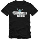 An jedem verdammten Sonntag #1 T-Shirt Football Herren Super Bowl Play Offs NFL Football Shirt