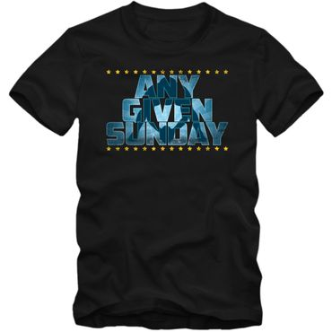 Any Given Sunday #3 An jedem verdammten Sonntag Football T-Shirt Herren Super Bowl Play Offs NFL Football Shirt  – Bild 1