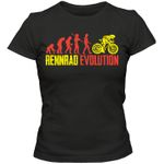 Rennrad Evolution #1 T-Shirt Sport Bike Trekbike Frauen Shirt