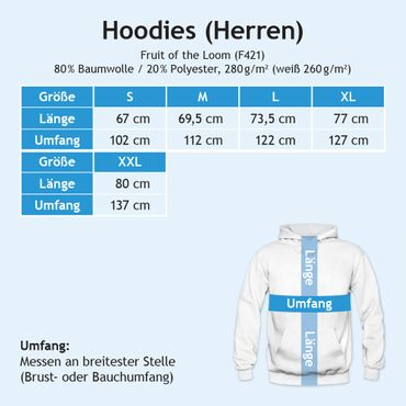 I'm a Panther 01 Hoodie Herren Football Hoodies Super Bowl Play Offs Kapuzenpullover – Bild 6