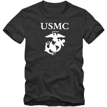 U.S. Marine Corps Shirt USMC USA US Armee Navy Air Force T-Shirt Herrenshirt