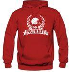 I'm a Patriot #6 Premiumhoodie Herren Super Bowl Play Offs Football Hoodies USA Kapuzenpullover