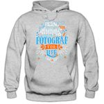 Flowerpower Fotograf #1 Hoodie Berufe Follow your dreams  Traumberuf Herren Kapuzenpullover