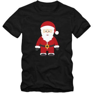 Christmas Kindershirt #17 Weihnachtsmann Heilig Abend Nikolaus Frohes Fest T-Shirt Jungen Mädchen