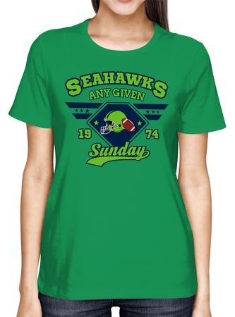 Any Given Sunday Seahawks Premium T-Shirt American Football An jedem verdammten Sonntag Super Bowl Frauen Shirt  – Bild 7
