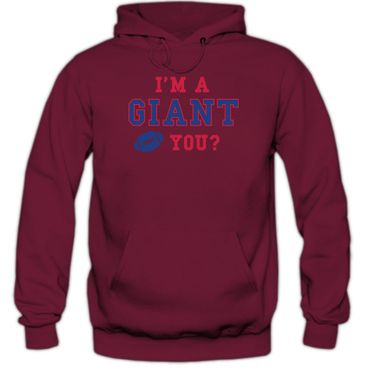 I'm a Giant #3 Hoodie Football Hoodies Super Bowl USA Kapuzenpullover