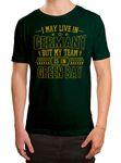 Packers Mein Team Premium T-Shirt Green Bay Football Sport Herren Shirt