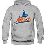 I'm a Met #2 Hoodie Baseball Home Run Play Offs American Sports USA Kapuzenpullover