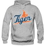 I'm a Tiger #2 Hoodie Baseball Home Run Play Offs American Sports USA Kapuzenpullover