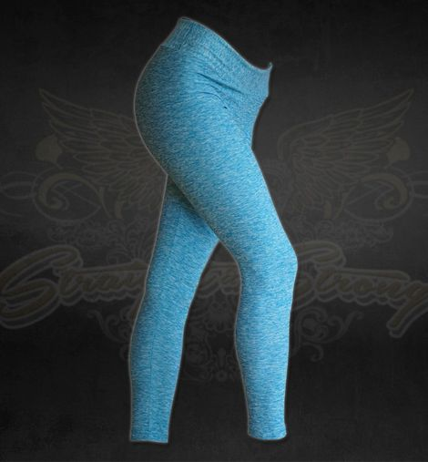 Blue Sky Fitness Leggings by Straight and Strong