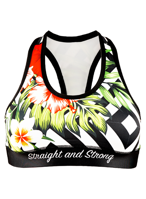 Aloha Sports Bra by Straight and Strong 001