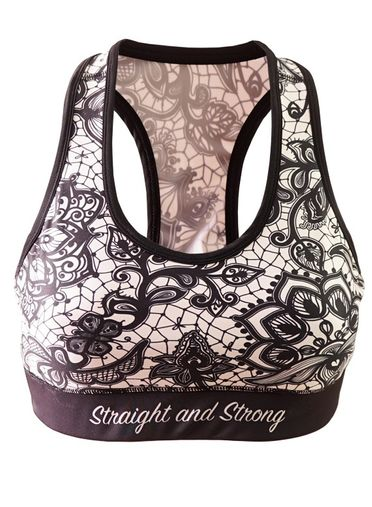 Mandala Sports Bra by Straight and Strong