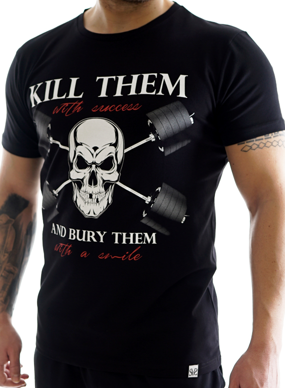 Kill them T-Shirt by Straight and Strong 001