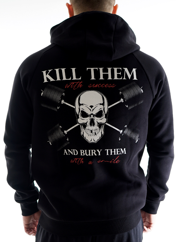 Kill them Hoodie by Straight and Strong 001