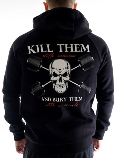 Kill them Hoodie by Straight and Strong