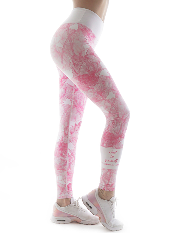 Just be yourself Fitness Leggings by Straight and Strong 001
