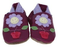Inch Blue | Babyschuhe Flowerpot | pink grape
