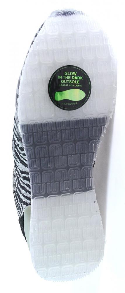Munda:rt | Sneaker | Kimberley | schwarz grau