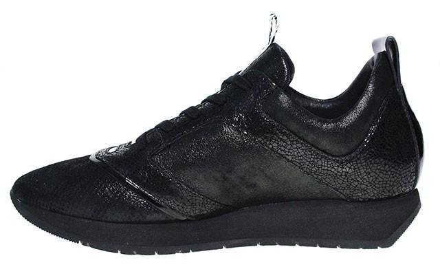 Bikkembergs Sneaker | Runner 724 Low - cracked black