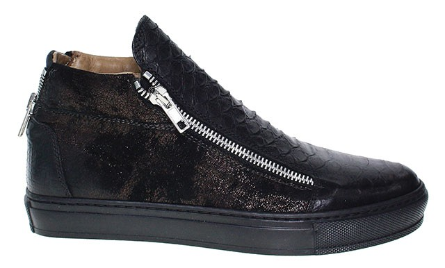 Clocharme | High Top Sneakers - schwarz | lidia nero