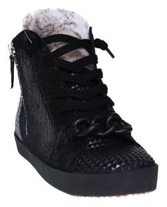 Donna Carolina | HighTop Sneaker | Tess Dark - schwarz
