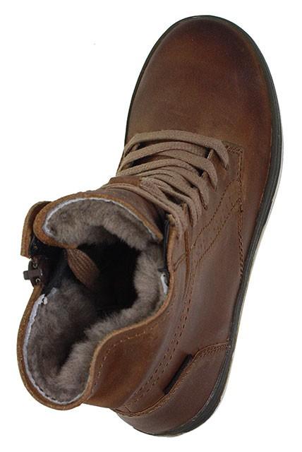 Vado | Nikky | Stiefel | Schnürbootie | Tex - braun